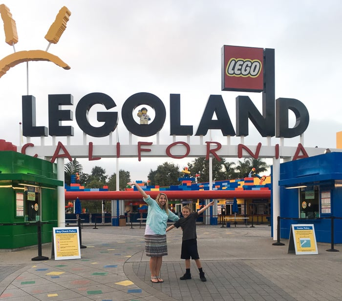 California Vacation Legoland