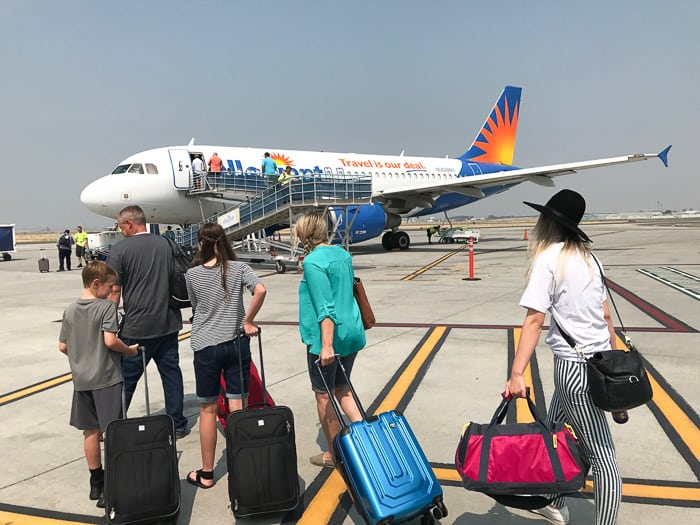 California Vacation using Allegiant Airlines for budget friendly travel!