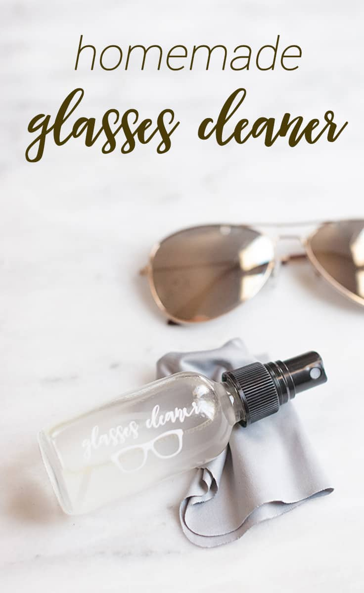 Smudges, no more! You will fall in love with this Homemade Eyeglass and Sunglass Cleaner after one use.