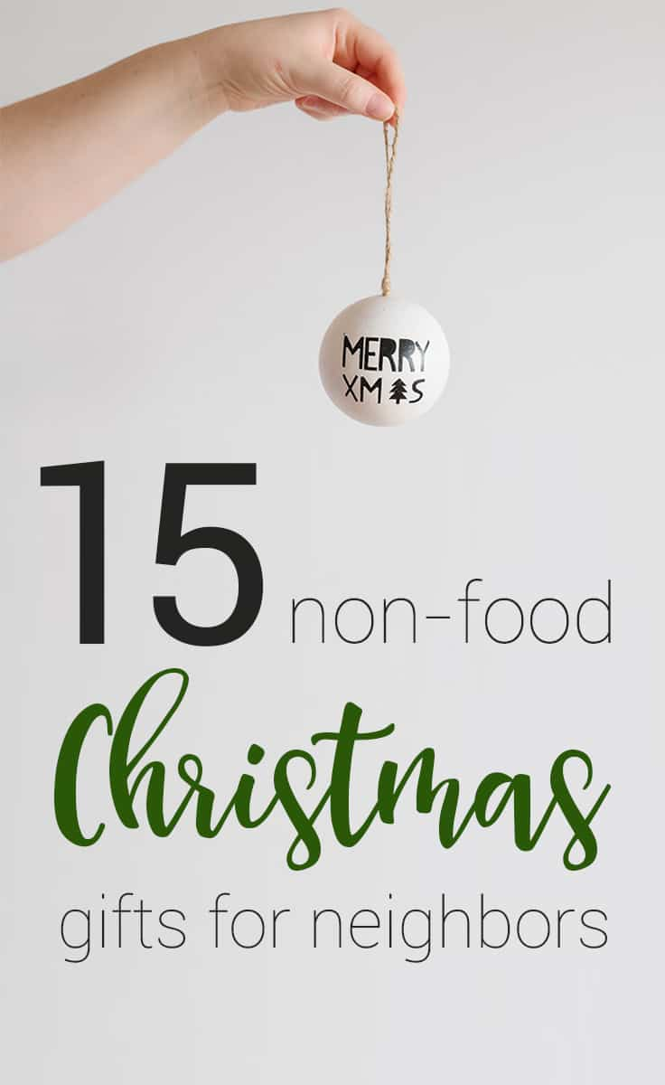 15 non food holiday gift ideas for neighbors happy money for Great gifts for neighbors on the holiday