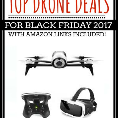 Top Drone Deals for Black Friday 2017