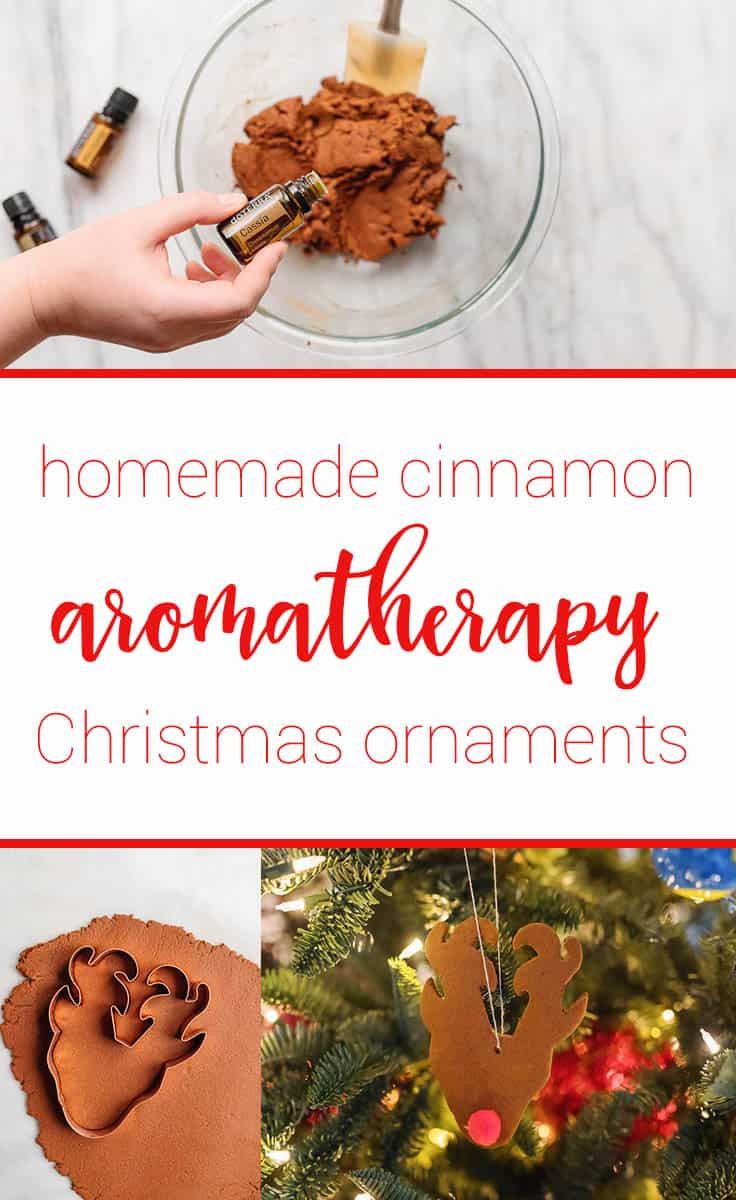 Let the aroma of Christmas fill your home with these homemade Aromatherapy Christmas Ornaments with essential oils. This is a great project for the family to do together.