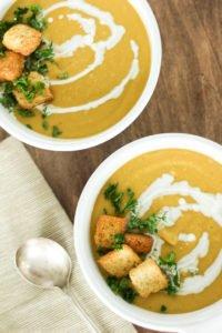 Instapot Cashew Butternut Squash Soup Recipe