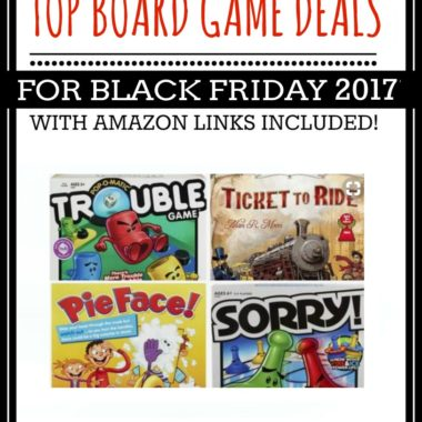 Top Board Game Deals for Black Friday 2017
