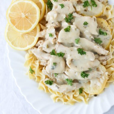 Instant Pot Light Country Lemon Chicken w/ Pasta Freezer Meal