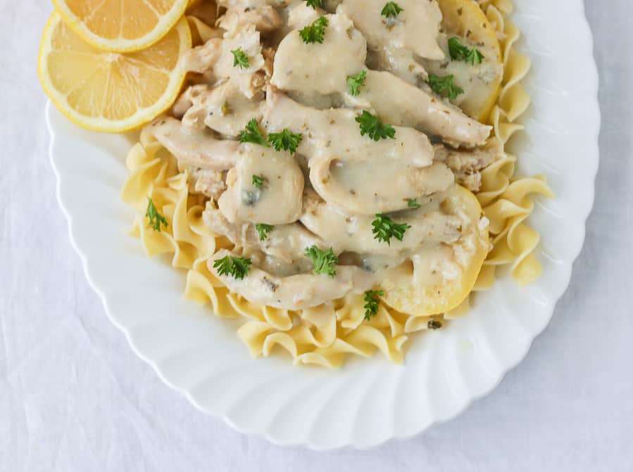 Instant Pot Light Country Lemon Chicken makes a delicious perfect freezer meal!