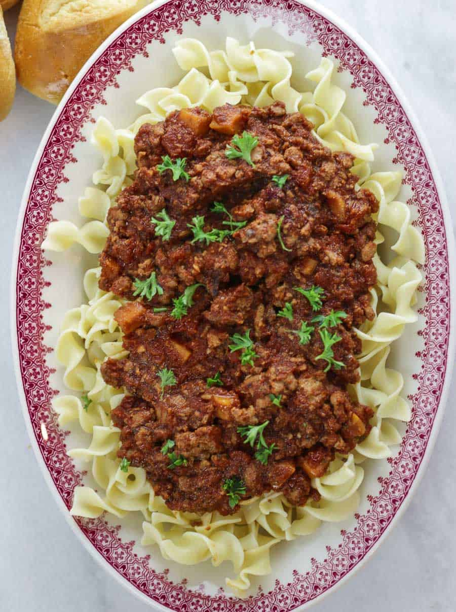 Instant Pot Turkey Bolognese Freezer Meal