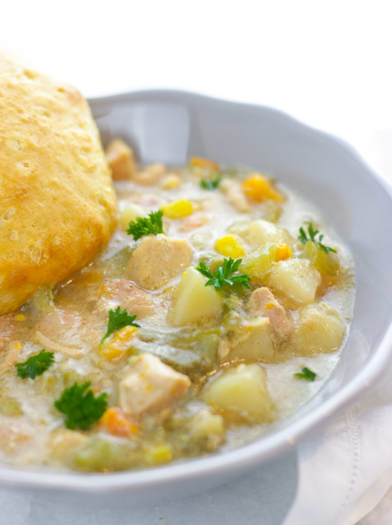 Instant Pot Light Chicken Pot Pie Freezer Meal tastes like home, the country side, comfort…it has everything you need to lift your spirits, satisfy your cravings, and cure what ever ails ya!