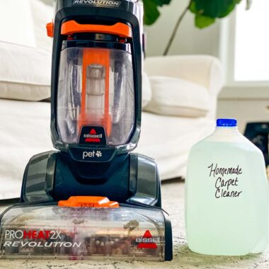 Best Homemade Carpet Cleaner Solution Happymoneysaver