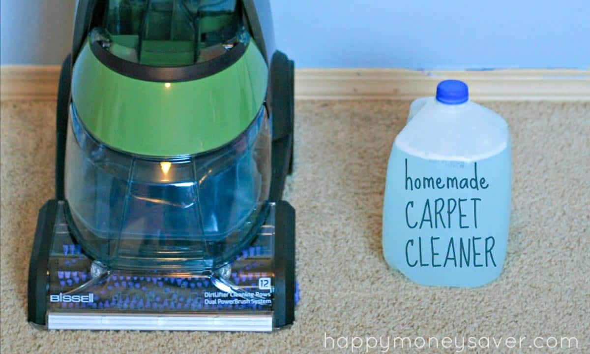 Homemade Carpet Cleaner For Machines Recipe Concentrated Mix