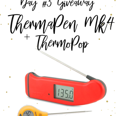 {Expired} Countdown to Cookbook Celebration! Giveaway Day #3: ThermaPen Mk4 + ThermoPop