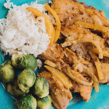 Caribbean Pork Roast Freezer Meal