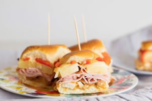 Any recipe that has party in its title automatically gets my attention, and these Hawaiian Party Sliders are worthy of it.