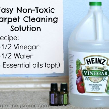 Homemade All Natural Carpet Cleaner Solution Recipe