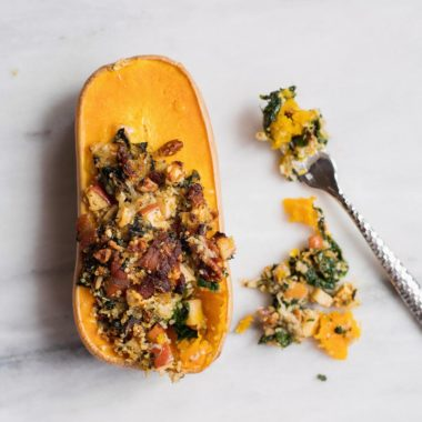 You have never had squash like this before. This Stuffed Squash is topped with everything delicious and is totally crave-worthy.