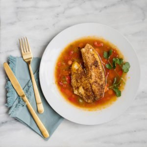 Look no further than this Tri-Color Brazilian Fish Chowder for a healthy meal that is full of flavor. Just don't skimp on the star of the show, tilapia!