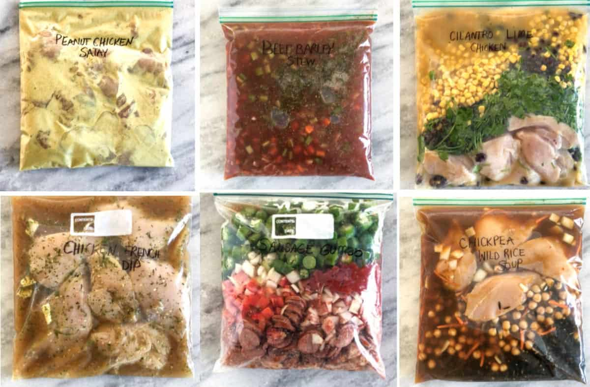 Healthy Easy Freezer Meals