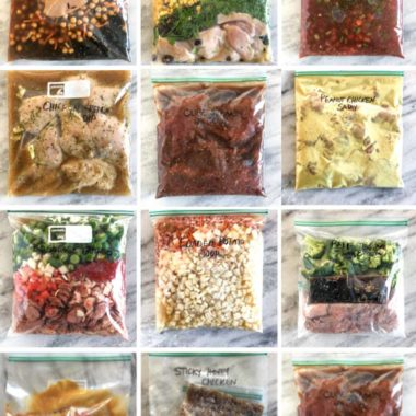 15 Actually Easy Freezer Meals (Seriously!)