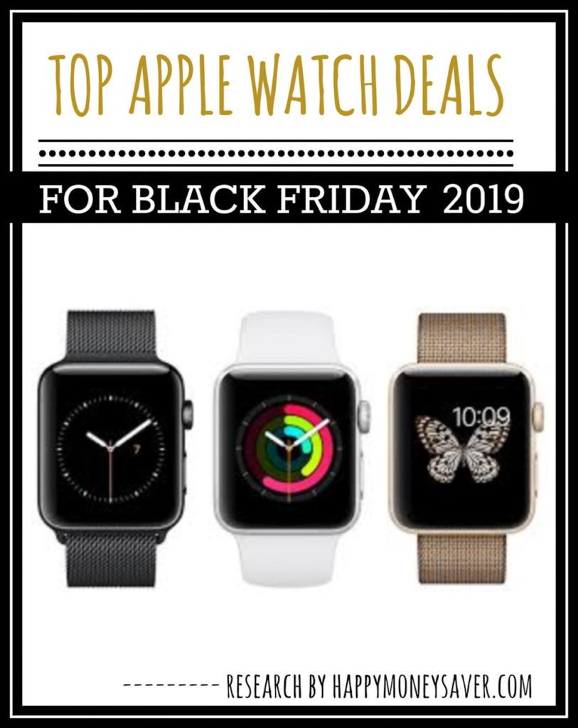 HUGE roundup of all the apple watch Black Friday deals for 2019! Research is all done for you! You're gonna love this if you love saving money!
