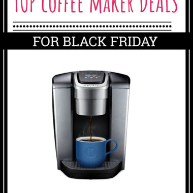 Top Coffee Maker Deals for Black Friday 2018