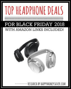 Best roundup of Black Friday Headphone Deals 2018
