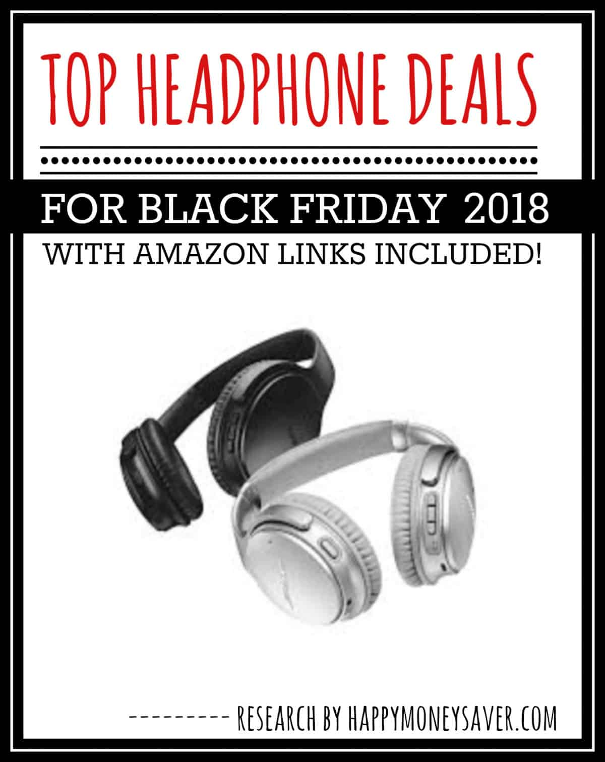 f2165cd6585 HUGE roundup of all the headphone deals for Black Friday 2018! Bluetooth  headphones, beats