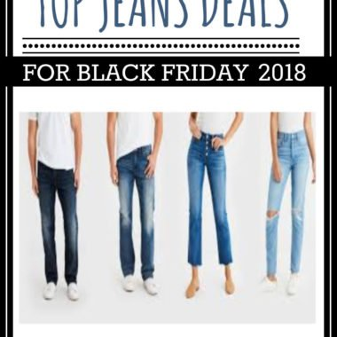 Top Black Friday Jeans Sale 2018