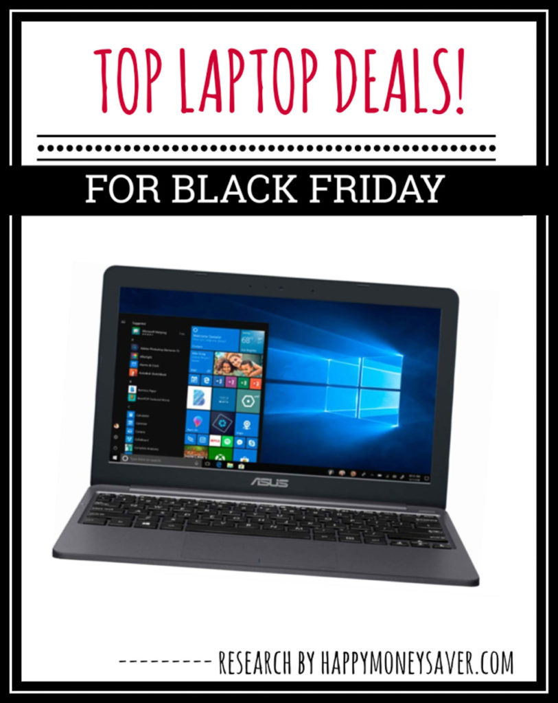 Here is a round up of all the top Laptop Black Friday Deals for 2019 - sure to make one thrilled to save money!