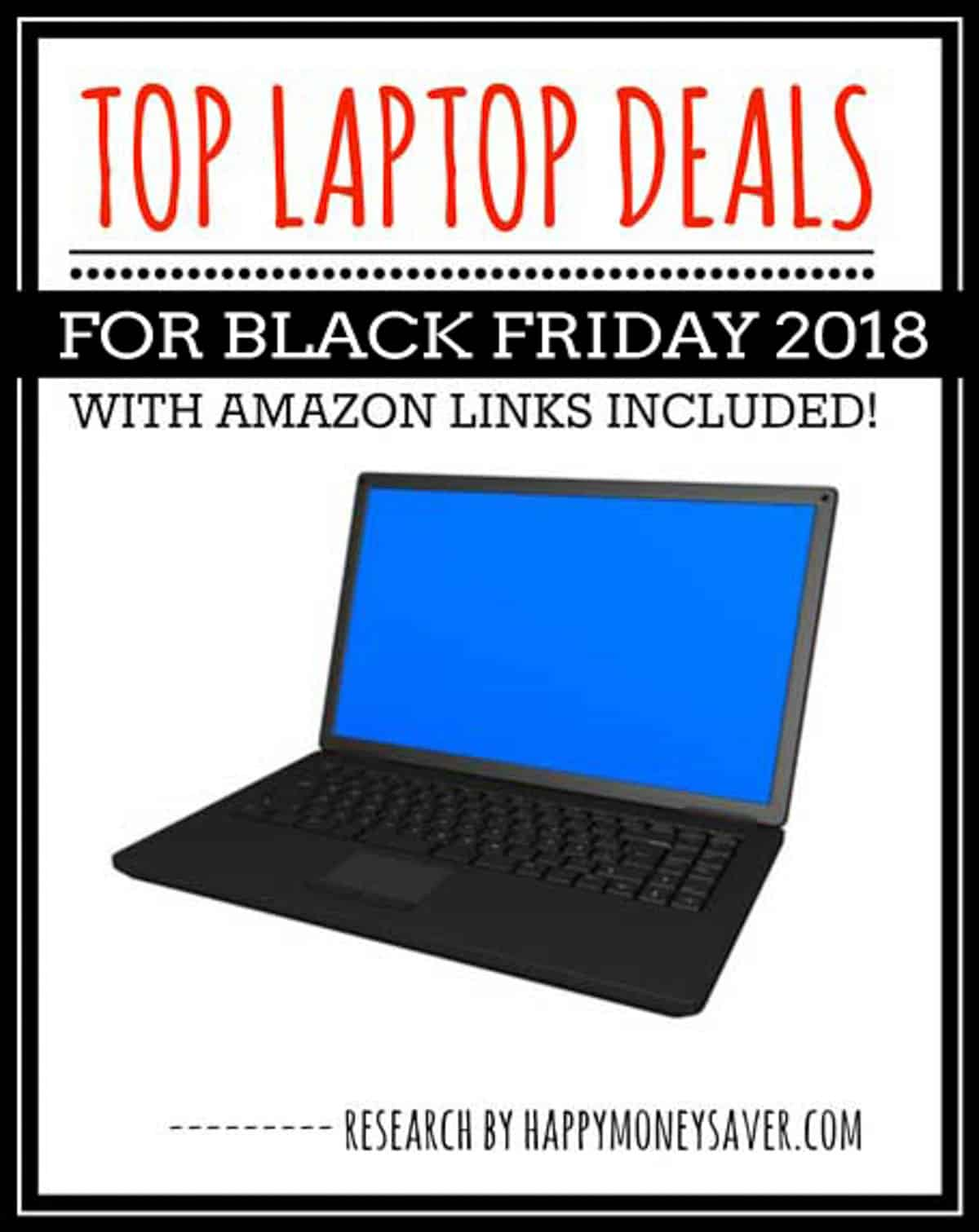Here is a round up of all the top Laptop Black Friday Deals for 2018 - sure to make one thrilled to save money!
