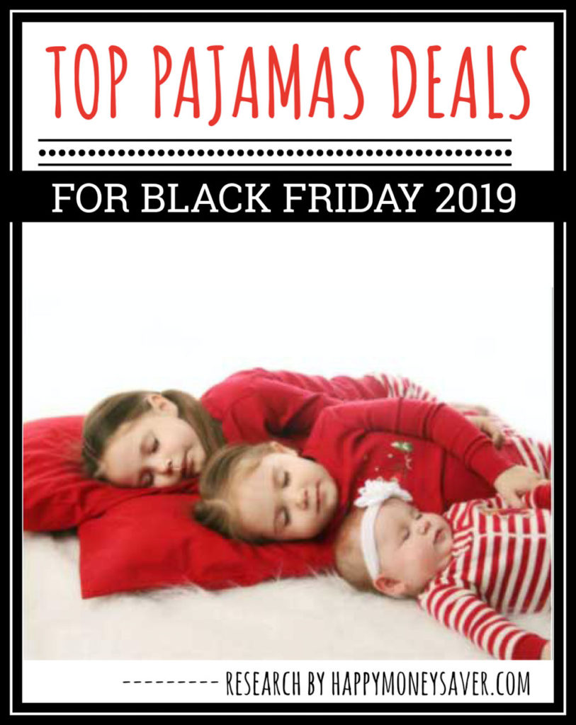 Round up of ALL the Top pajama deals for black friday 2019