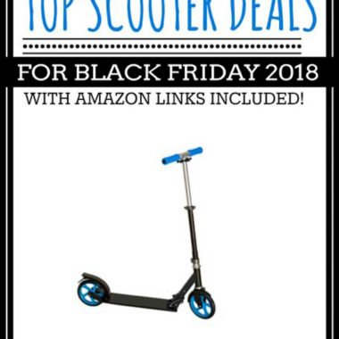 Top Black Friday Electric Scooter Deals 2018