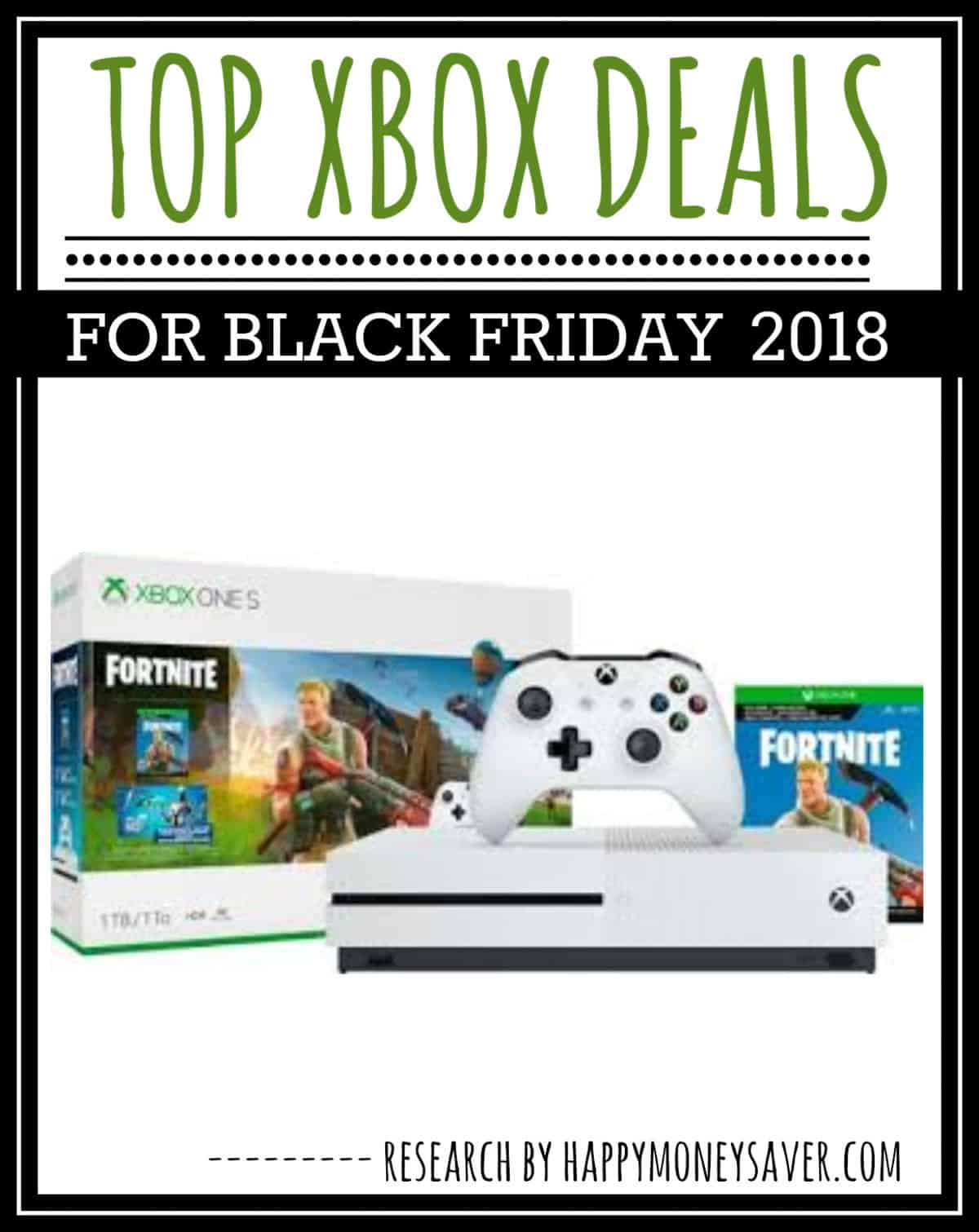 Here is a round up of all the top xbox black friday deals for 2018 including bundles, controllers and games.