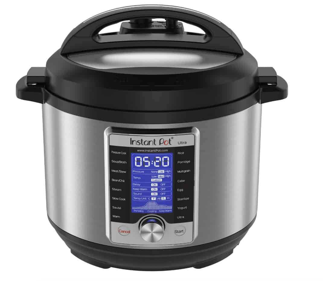 Instant Pot Black Friday Deals - Instant Pot ULTRA pressure cooker 6 quart