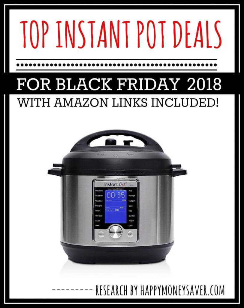 Top Instant Pot Deals Black Friday 2018