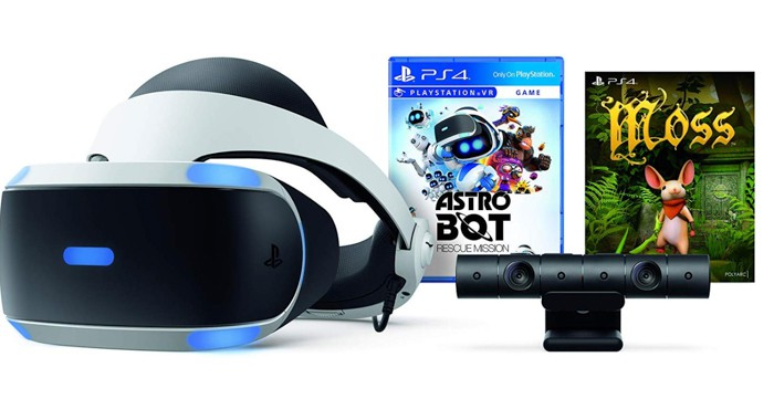 Black Friday Virtual Reality PS4 Bundle Deal Astro Bot and Moss