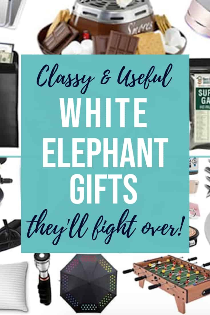 30 Classy Nice Useful White Elephant Gifts They Ll Fight For