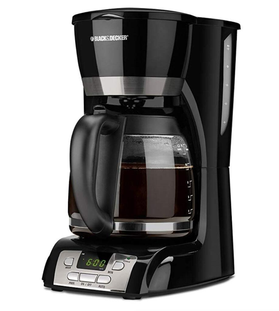 black n decker coffee maker