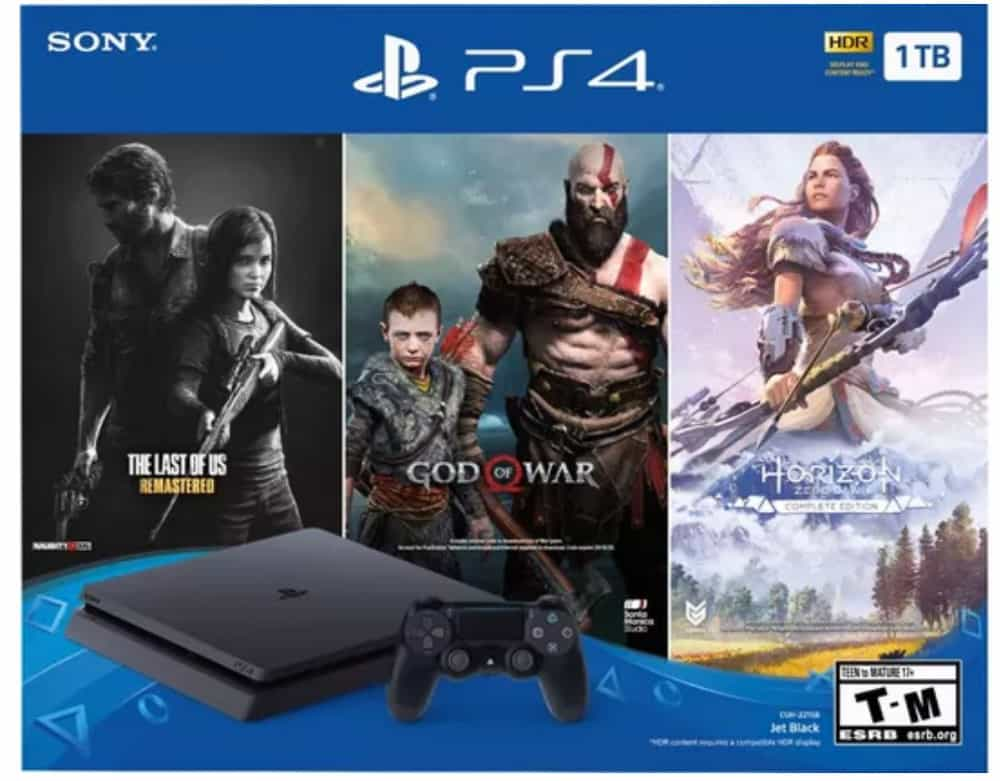 ps4 console bundle for black friday 2019