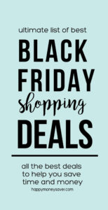 Black Friday Shopping Deals graphic