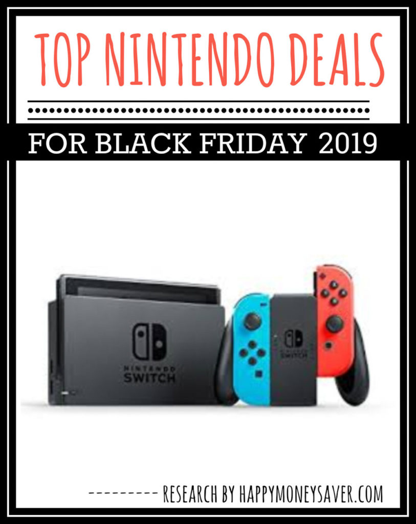 HUGE roundup of all the Nintendo Switch Black Friday deals for 2019! Nintendo Black Friday bundle deals, controllers, games + more. Research is all done for you!