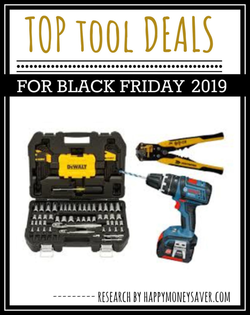 Black Friday Tools on sale for 2019 - Here is a round up of all the top Black Friday tool sales - sure to make tool fan thrilled to save money!