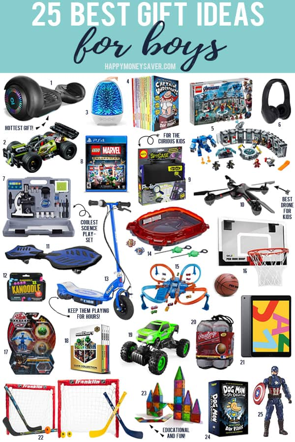 The 25 Best gifts for boys in 2019 with images of all the toys and games