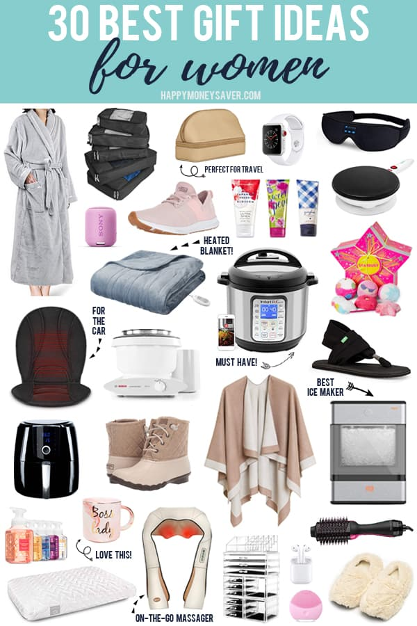 The 30 BEST gifts to give to women this holiday season with their images