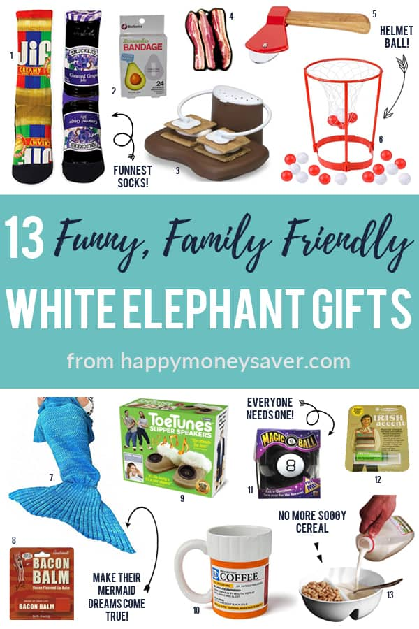 The best, funny white elephant gifts that the whole family can laugh at!
