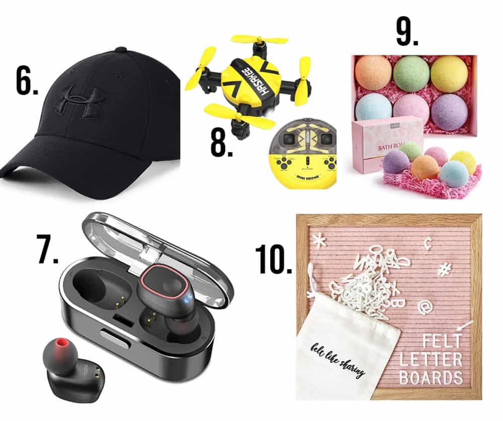 More gifts for teenagers numbered 6-10