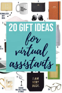 20 gift ideas for virtual assistants