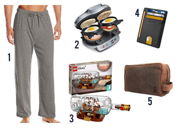 27 Cheap Gifts for Men that he'll actually want with images 1-5 of ideas.