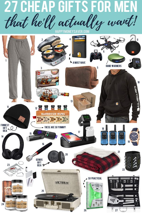 Cheap Gifts for Men in 2019 | Happy Money Saver