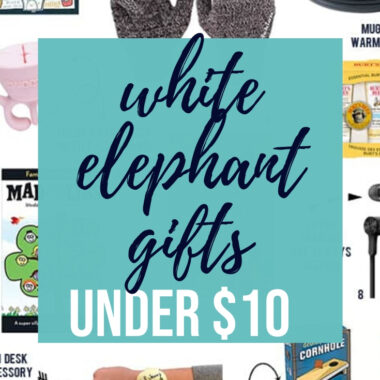 10 White Elephant Gifts Under $10