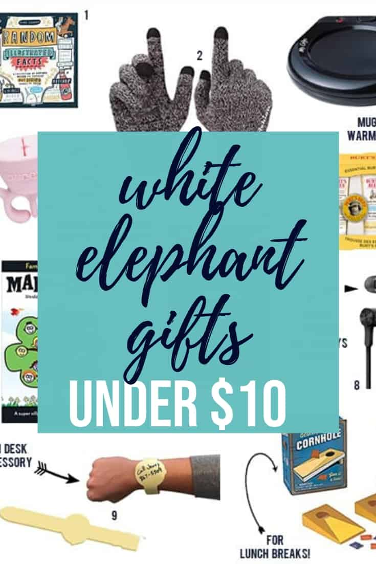 10 White Elephant Gifts Under 10 Happy Money Saver